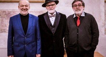 Kostas Smoriginas, Vladas Bagdonas ir Vidas Petkevičius