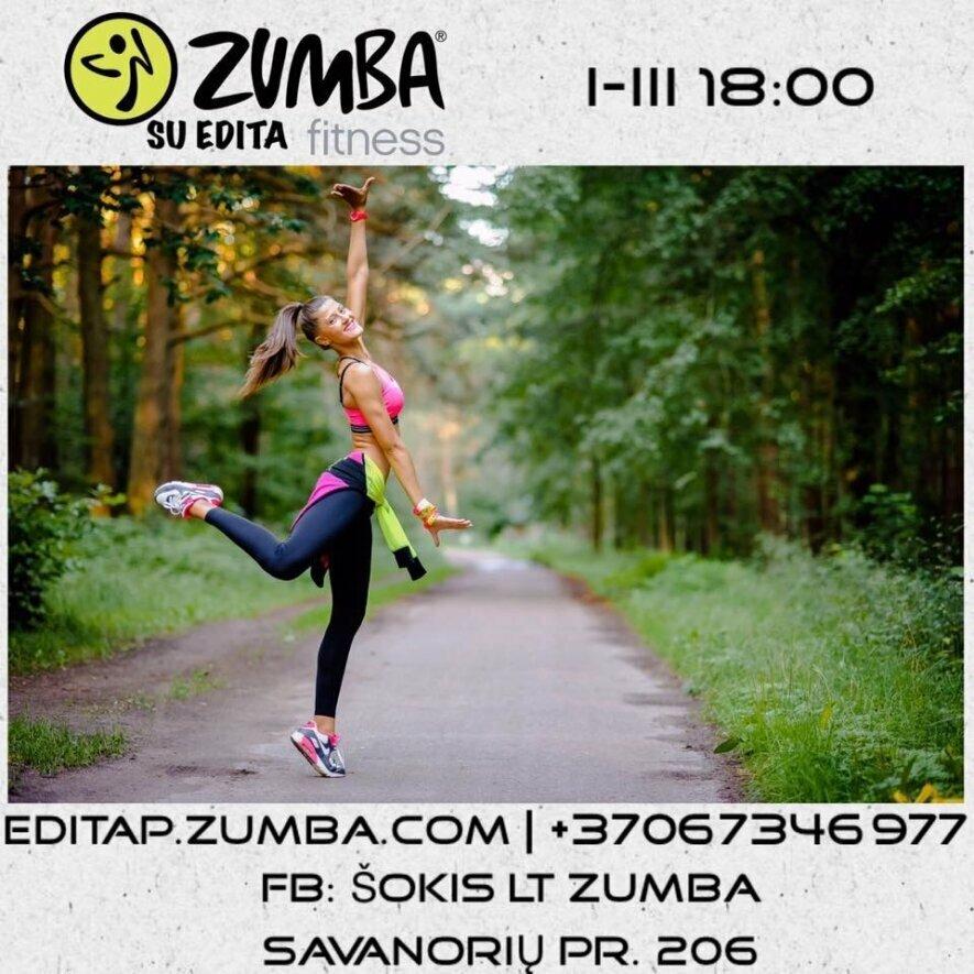 Zumba Dainavoje su Edita I-III 18:00