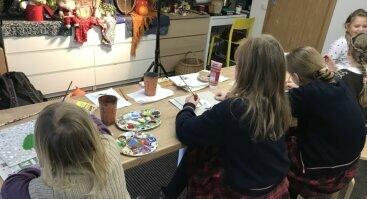 Dailės studijos būreliai vaikams ir paaugliams