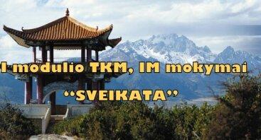 """I modulio TKM, IM mokymai """"SVEIKATA"""""""