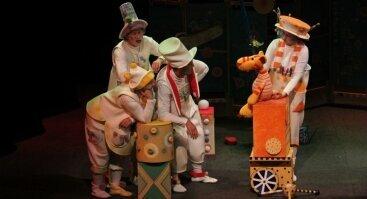 """Lėlių spektaklis """"Mažylis R-r-r-r"""""""