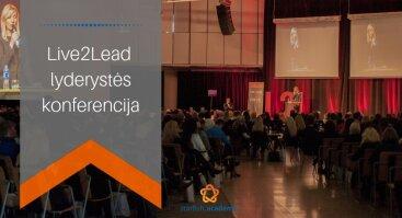 Live2Lead 2020 lyderystės konferencija