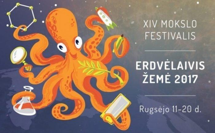 "Mokslo populiarinimo festivalis ""Erdvėlaivis Žemė"" VDU"
