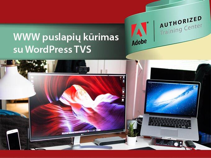 WWW puslapių kūrimas su WordPress TVS
