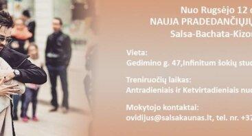 Salsa Kaunas naujų narių registracija