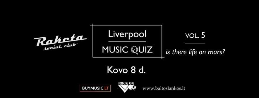 Liverpool MUSIC QUIZ