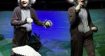 Spektaklis vaikams. Batuotas katinas.