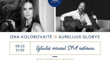 Ona Kolobovaitė ir Aurelijus Globys