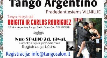 Argentinietiško Tango Pamoka