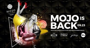 Didysis Mojo Lounge sugrįžimo vakarėlis