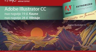 Vektorinė grafika Adobe Illustrator CC (I lygis)