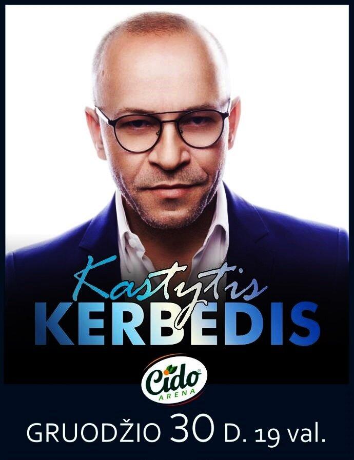 KASTYČIO KERBEDŽIO KONCERTAS