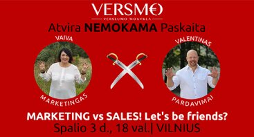 Marketing vs Sales! Let