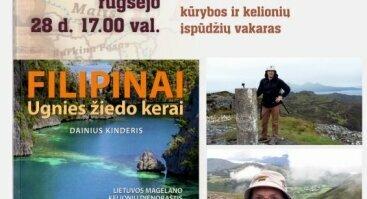 Lietuvos Magelano – Dainiaus Kinderio kūrybos ir kelionių įspūdžių vakaras