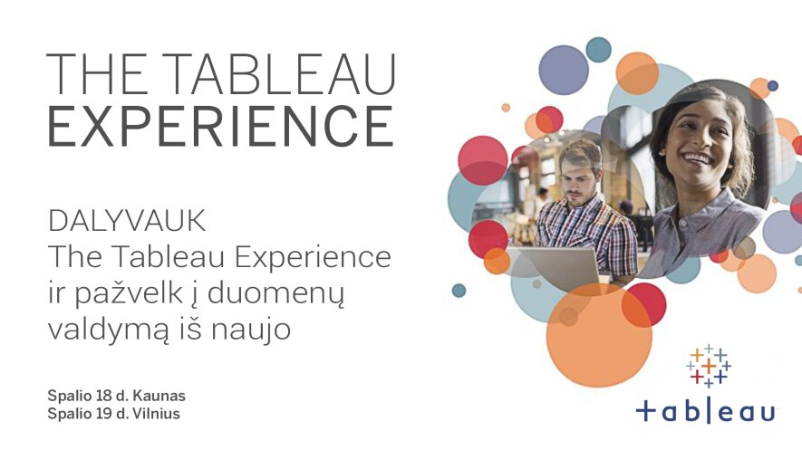 The Tableau Experience - Kaunas