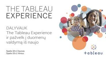 The Tableau Experience - Kaunas