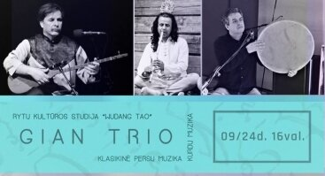 GIAN TRIO - Kurdų muzika. Klasikinė persų muzika