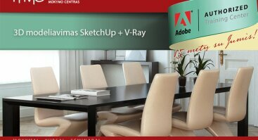 3D modeliavimas SketchUp