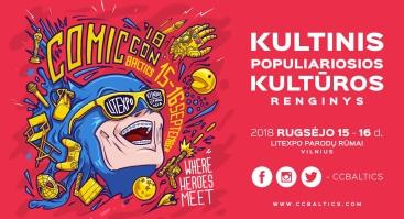 Comic Con Baltics 2018