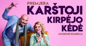 Muzikinė komedija I  KARŠTOJI KIRPĖJO KĖDĖ