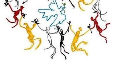 """Pasaulio tautų šokių ratu renginys """"Ant slenksčio"""""""