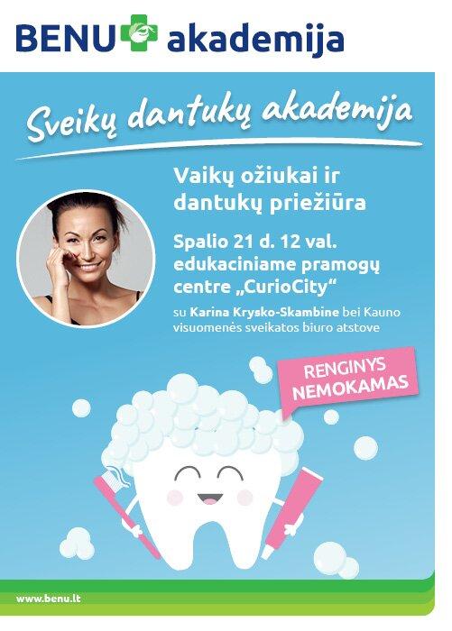 BENU Sveikų dantukų akademija