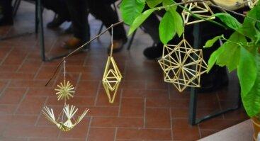 Šiaudinių sodų vėrimo kūrybinės dirbtuvės