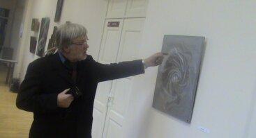 """Jono Nariūno 70-mečio jubiliejinė metalo grafikos paroda """"Laikas"""""""