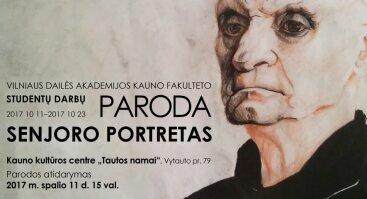 "Parodos""Senjoro portretas"" atidarymas"