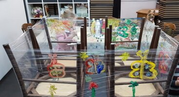 Pasakų, dailės raiškos ir terapijos kūrybiniai užsiėmimai 4 - 6 metų vaikučiams