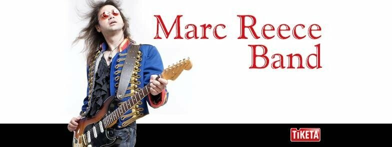 MARC REECE BAND - Live: Let It Burn!