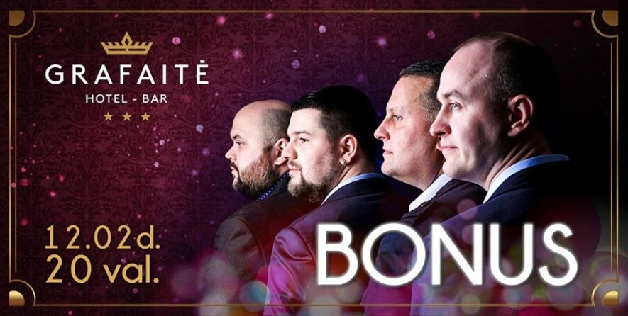 Grupės BONUS koncertas Grafaitėje!
