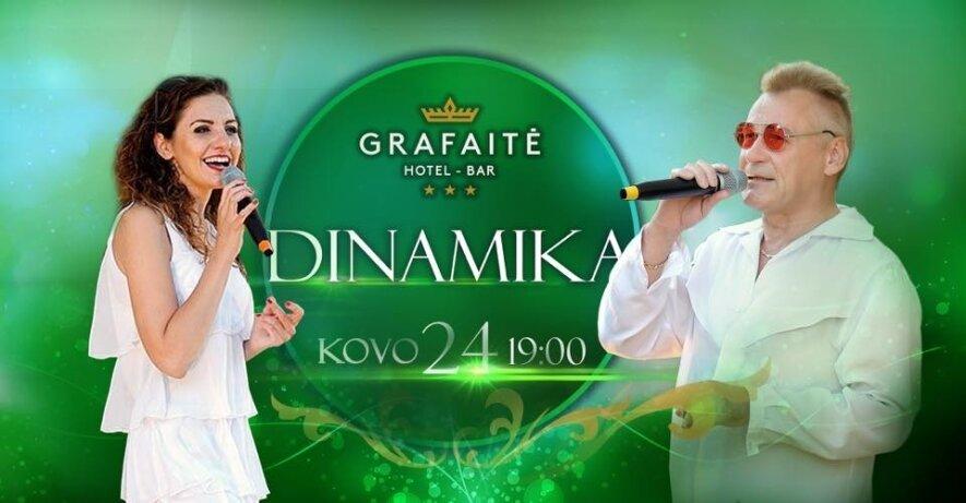 Legendinės grupės Dinamika koncertas Grafaitėje!