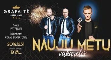 Naujųjų metų vakarėlis Grafaitėje!