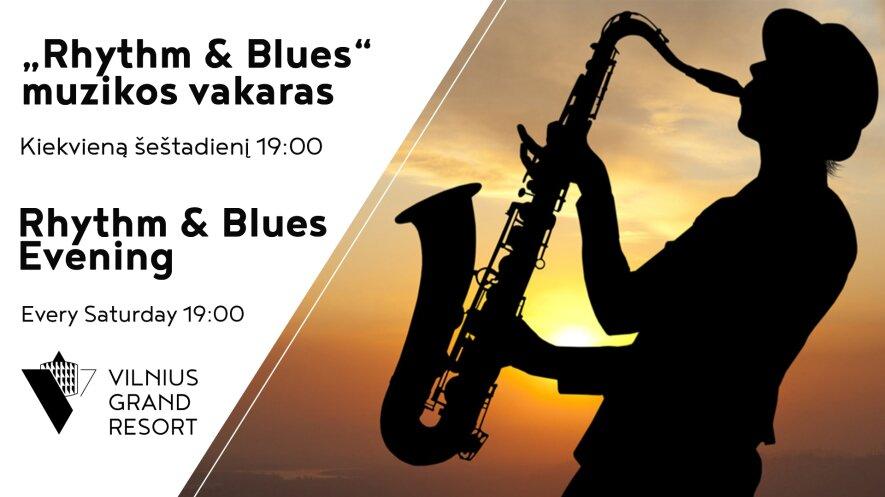 """""""Rhythm & Blues"""" muzikos vakaras"""
