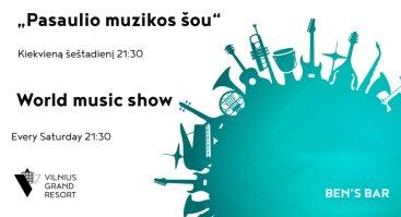 Pasaulio muzikos šou