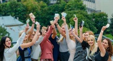"""""""Moteris ir Finansai: noriu turėti pinigų sau ir būti laiminga"""" Vilniuje"""