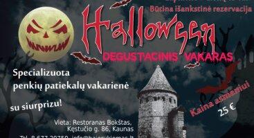Degustacinis Halloween vakaras