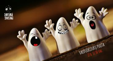 Vaikų vakaras: vaiduokliukų puota