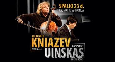 Alexander Kniazev ir Kasparas Uinskas