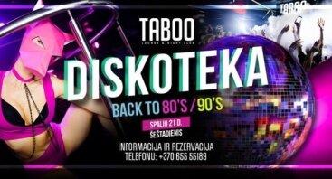 Diskoteka Back to 80