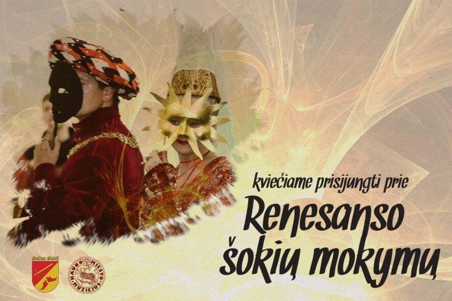 Renesanso šokių mokymai