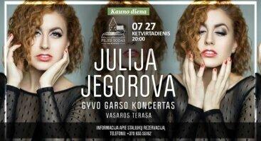 Julijos Jagorovos koncertas