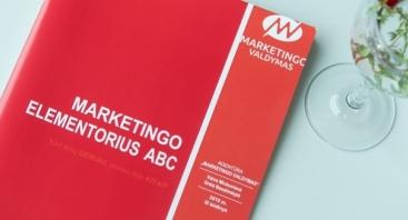 "STORI, DIDELI MARKETINGO MOKYMAI ""Marketingo Elementorius ABC""!"