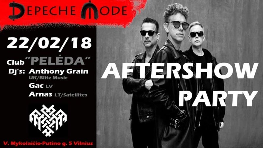 Depeche Mode Aftershow Party