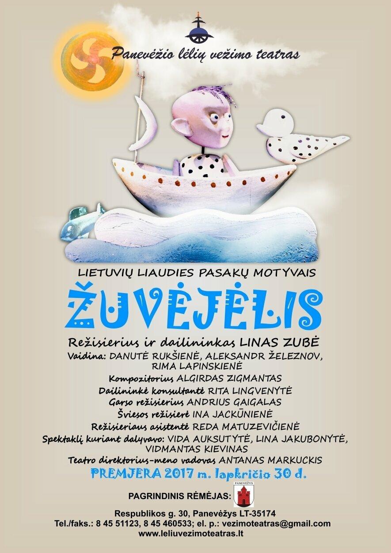 """Spektaklis lietuvių liaudies pasakų motyvais """"Žuvėjėlis"""", rež. L. Zubė"""