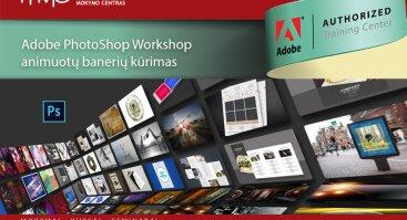 Adobe Photoshop animuotų banerių kūrimas