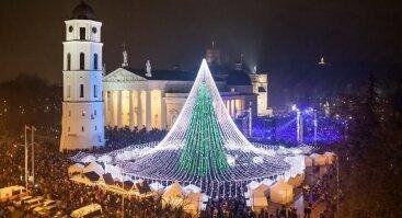 Kalėdų eglės įžiebimo šventė 2019