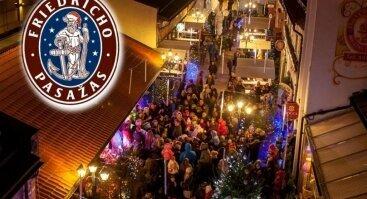 Kalėdų miestelio atidarymas