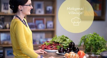 Gruzinų virtuvės patiekalų mokymai Vilniuje